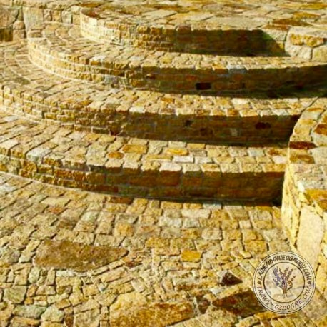 Granit - Płytki brukowe łupane